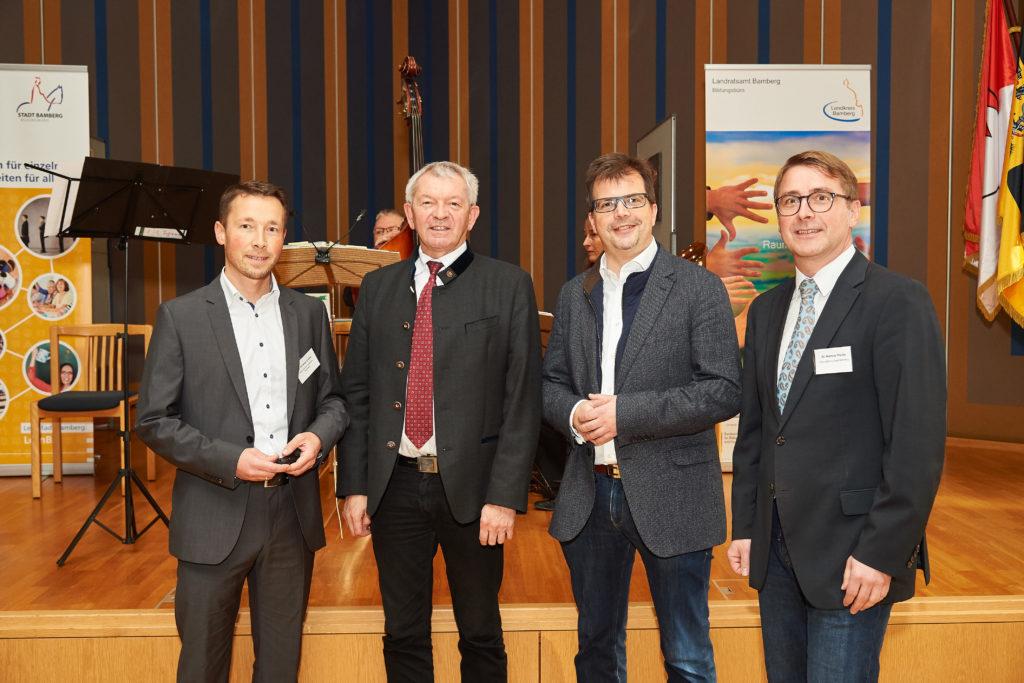 Unterstützung durch Bildungsberatung: Bildungsbüros von Stadt und Landkreis Bamberg luden zur 4. Bildungskonferenz