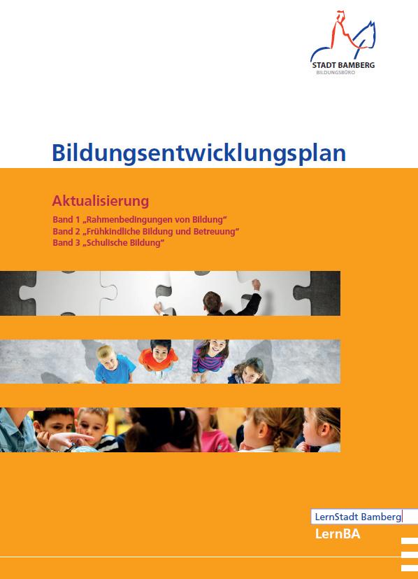 Bamberger Bildungsentwicklungsplan: Bände 1 – 3 wurden aktualisiert
