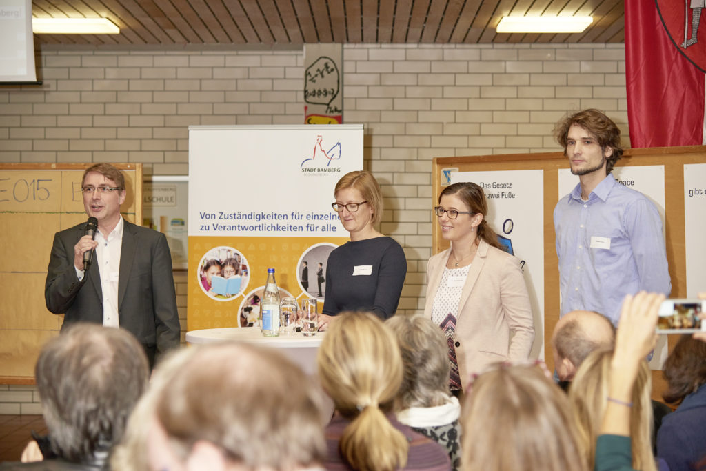 1. Bildungskonferenz der Stadt Bamberg: Rege Beteiligung am Open Space-Format