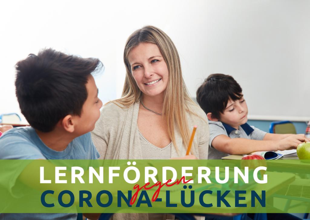 Lernförderung gegen Corona-Lücken