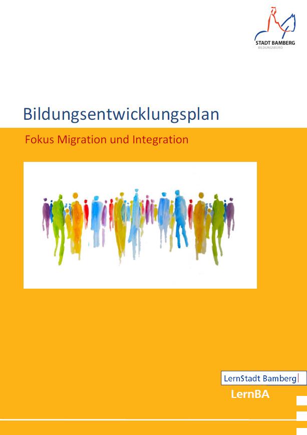 Cover Bildungsentwicklungsplan Migration und Integration